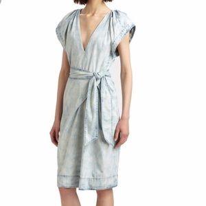 Rebecca Taylor Acid Washed Dress